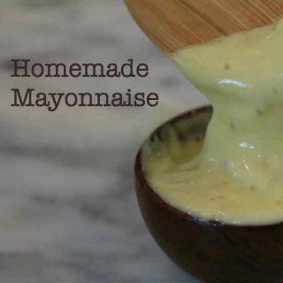 Mayonesa Casera (rápido y fácil)
