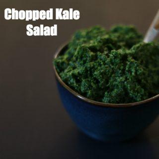 Ensalada de Kale (¡receta rápida!)