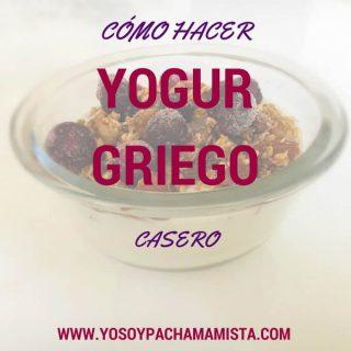 Cómo hacer yogur griego casero (con fotos)