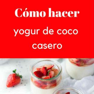 Cómo hacer yogur de COCO casero (con fotos, paleo, vegano)