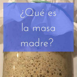 ¿Qué es la masa madre?