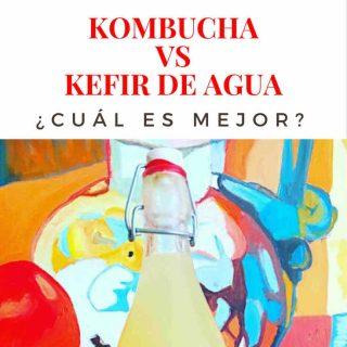 Kombucha o Kefir de Agua: ¿Cuál es mejor?