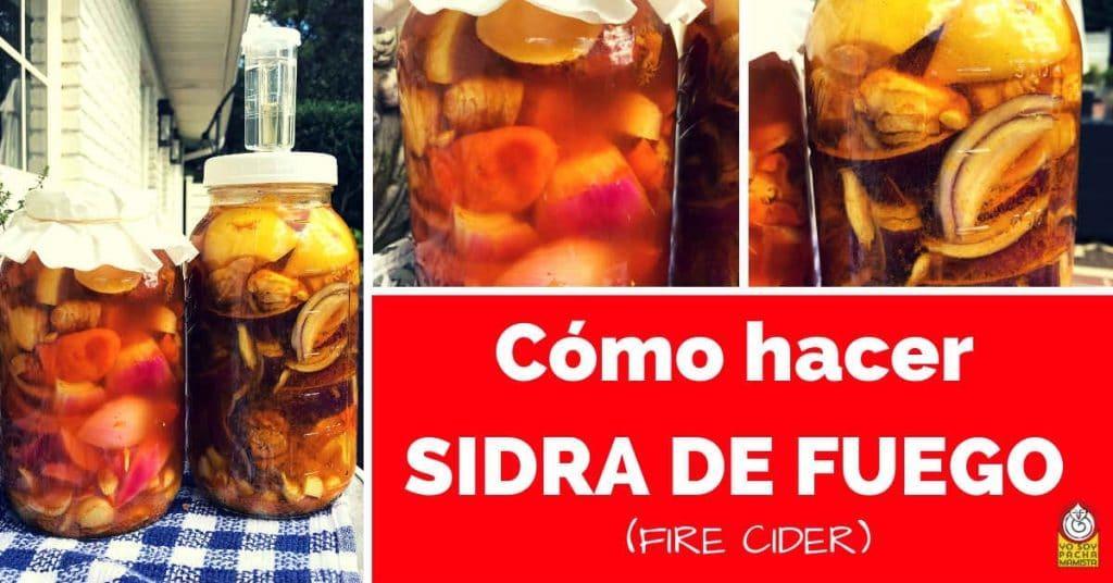 como hacer sidra de fuego fire cider facebook