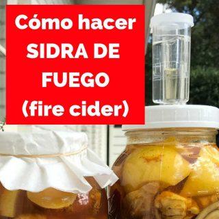 Cómo y por qué hacer la SIDRA DEL FUEGO (fire cider)